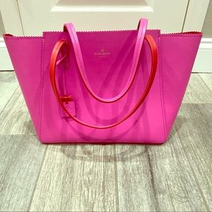 Kate Spade Large Tote PINK  🛍Gorgeous💖 Authentic